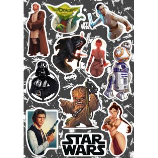 Стикерпак 144 Звездные Войны (Star Wars). Формат А5