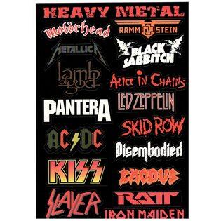 Стикерпак 150 Heavy Metal.Формат А4