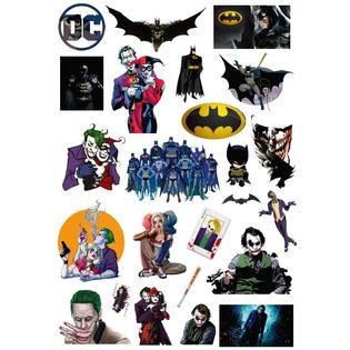 Стикерпак 067 Бэтмен & Джокер.Формат А4