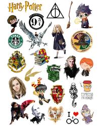 Стикерпак 170 Гарри Поттер.Формат А4