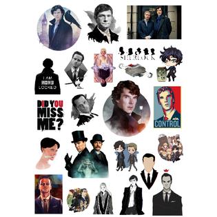 Стикерпак 007 Шерлок.Формат А4