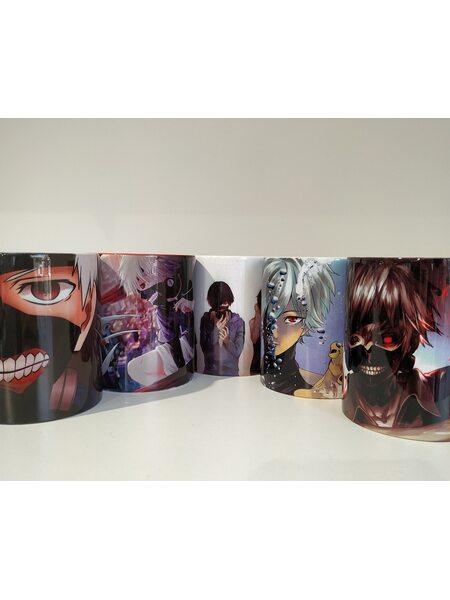 купить Кружка керамическая Токийский Гуль (Tokyo Ghoul) в ассортименте, в Ростове с доставкой