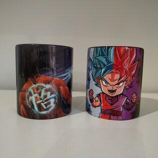 Кружка керамическая Жемчуг Дракона (Dragon Ball) в ассортименте