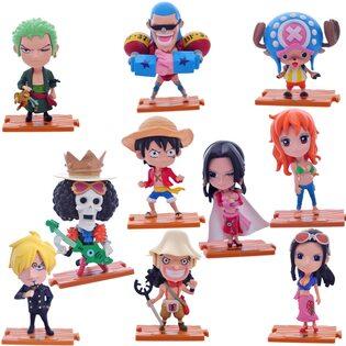 Фигрука из набора Ван Пис (набор 10 шт.) 10 см. (One Piece)