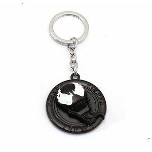 Брелок Веном круглый металлический (Venom)