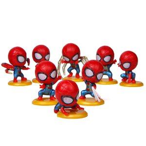 Фигурка из набора Человек-паук: Война бесконечности (Spider-Man 5 см.) Набор 8 шт.