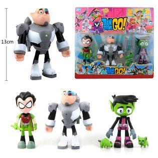 Фигурка из набора Юные титаны, вперед (Teen Titans Go! 5 см.) 3 фигурки в наборе