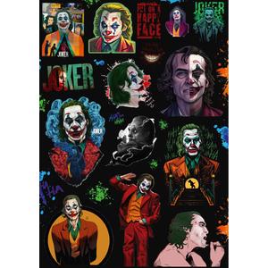 Стикерпак 014 Джокер.Формат А4