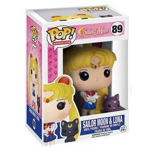 Фигурка Funko POP Сейлор Мун с Луной (Sailor Moon with Luna 89)