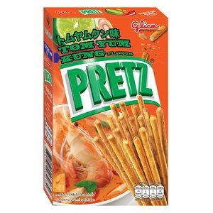 Бисквитные палочки Pretz со вкусом Том Ям 23 гр.